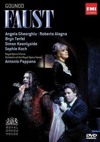 Charles Gounod, Antonio Pappano<br>Faust<br>2DVD